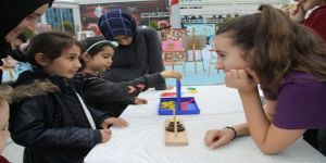 Öğrenciler 'Bilim ve Beceri Şenliği'nde buluştu