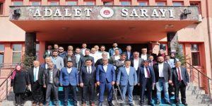 AK Partili meclis üyeleri mazbatalarını aldı