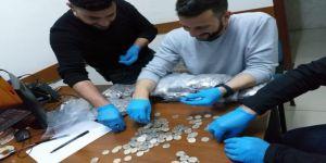 Konya'da 200 Bin Liralık Sahte Madeni Euro Ele Geçirildi