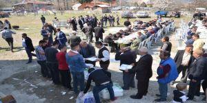 Osmancık'ta yağmur duası