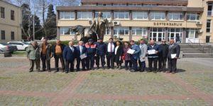 Sinop'ta Muhtarlar Mazbatalarını Aldı