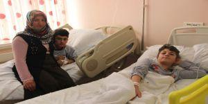 Cıvadan Zehirlenen Kardeşler Tedavi Altına Alındı