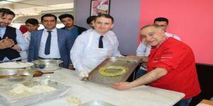 Gaziantep mutfağı NEVÜ'de tanıtıldı