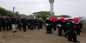 Kıbrıs Gazisi Bölükbaş, Son Yolculuğuna Uğurlandı