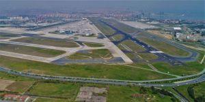 Atatürk Havalimanı Boş Hali Havadan Görüntülendi