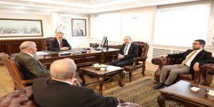 """Başkan Dr. Mustafa Palancıoğlu: """"Ticaret Merkezlerine Alternatif Yollar Açıyoruz. Çünkü Kayseri Kazanan Ve Kazandıran Bir Şehirdir"""""""