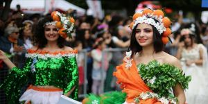 Portakal Çiçeği Karnavalı'na 1,5 milyon katılım