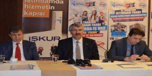 8. Trabzon İstihdam Fuarı'nda 2 Bin 913 Kişiye İş Ve Staj İmkanı Sunulacak