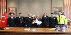 """Başkan Alim Işık: """"Özverili Çalışmalarından Dolayı Tüm Güvenlik Güçlerimizi Kutluyorum"""""""