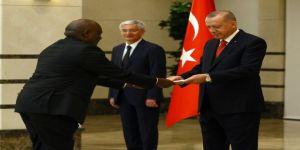 Cumhurbaşkanı Erdoğan, Kenya Büyükelçisini kabul etti
