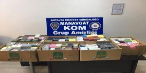 Antalya'da Gümrük Kaçakçılığı İddiasına 5 Gözaltı