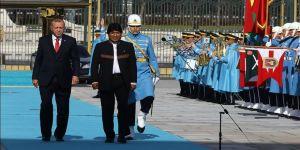 Bolivya Devlet Başkanı Morales, Ankara'da