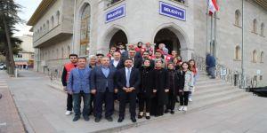 Türk Kızılay'ı Nevşehir Şube Yöneticileri, Başkan Arı'yı Ziyaret Etti