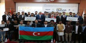 Başkan Ekrem Yüce, 'Genç Ticaret Köprüsü' Projesinin Ödül Törenine Katıldı