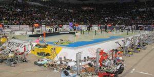 """""""13. Uluslararası MEB Robot Yarışması"""" Samsun'da Başladı"""