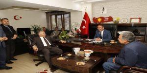 Başkan Büyükkılıç, İlk İlçe Ziyaretini Tomarza'ya Yaptı