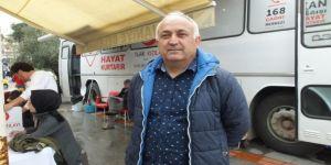 Burhaniyeliler Kan Bağışında Önde Gidiyor
