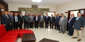 Vali Taşbilek'ten İl Genel Meclisine İade-i Ziyaret