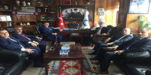 Vali Erdoğan, Başkan Yeşil Ve Yönetimini Tebrik Etti