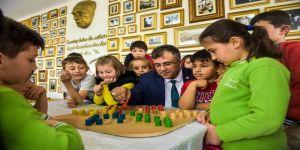 Taşköprü'de 2. Zeka Geliştirici Ahşap Akıl Oyunları Sergisi Başladı
