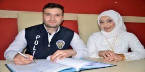 """Polis Memuru İle Öğretmen Eşi, Polis Günü'nde """"Evet"""" Dedi"""