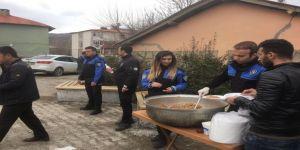 Çukurca'da Şehit Polisler İçin Mevlid-i Şerif Okutuldu
