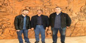 Rektör Bağlı Afrin Gazisi Didinmez'i Makamında Ağırladı