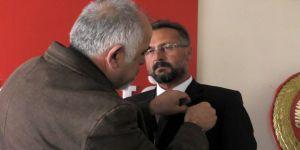 Murat Dalanbay, CHP'ye katıldı