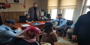 Engelli Bireylerden Polislere Ziyaret