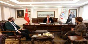 """Başkan Dr. Mustafa Palancıoğlu """"Saygılı, Nezaket Ve Huzur İçerisinde Projelerimiz Yarıştı"""""""