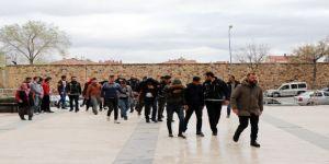Nevşehir'de Uyuşturucu Taciri 14 Kişi Adliyeye Sevk Edildi