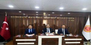 İl Genel Meclisinde Görev Dağılımı Yapıldı