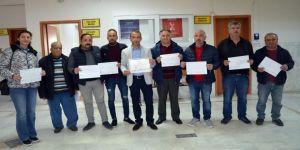 Didim'de Seçilen Muhtarlar Mazbatalarını Tek Tek Aldı