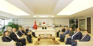 Gtb'den Şahinbey Belediye Başkanı Tahmazoğlu'na Ziyaret