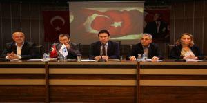 Başkan Ahmet Aras Muhtarları Dinledi