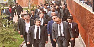 AK Parti ve MHP heyetinden Çukurca ziyareti