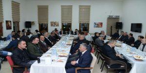 Başkan Yılmaz Emniyet Teşkilatını Yemekte Ağırladı