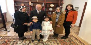 Erzurum Öğretmenevi Müdürü Abdullah Nehir'e Minklerden Teşekkür