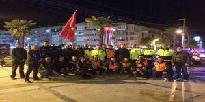 Kavga İhbarına Giden Polislere Sürpriz Kutlama