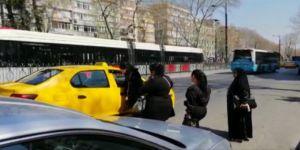 """İstanbul'da Taksicilerin """"Kısa Mesafe"""" Pazarlığı"""