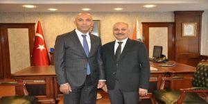 Başkan Dinçer Ve Esob Yönetiminden Emniyet Müdürü Şahne'ye Ziyaret