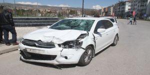 Elazığ'da Otomobil İle Motosiklet Çarpıştı: 1 Ağır Yaralı
