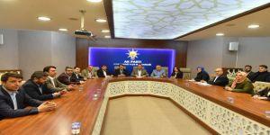 Dündar'dan Ak Parti Osmangazi'ye Teşekkür Ziyareti