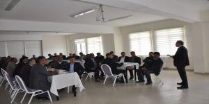 Köy Muhtarlarına Eğitim Semineri