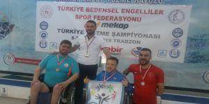 Siirtli Engelli Yüzücülerden Madalya