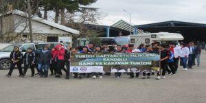 Sandıklı Akdağ'da Kamp Karavan Turizmi Etkinliği Başladı