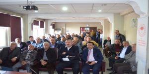 Siirt'te Fıstık Üreticilerine Eğitim Verildi