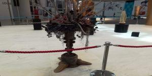 İstanbul Havalimanı'nda İnşaat Atıkları Sanat Eserine Dönüştü