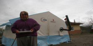 Deprem Bölgesindeki Çadırlarda Zorlu Yaşam Mücadelesi Devam Ediyor