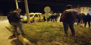 Ticari Taksi İle Otomobil Çarpıştı : 1 Ağır Yaralı